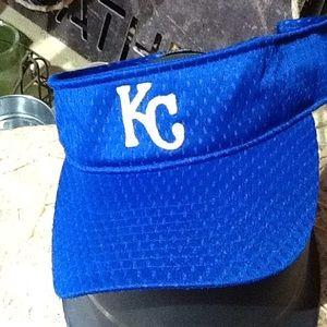 KC Royals Blue Crew Visor. Like New!